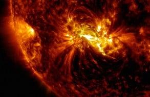 Eruptions solaires, prédiction soleil