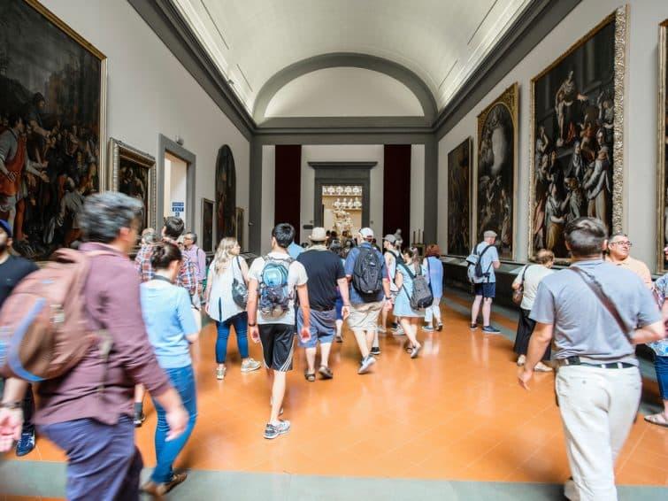 A l'intérieur du musée