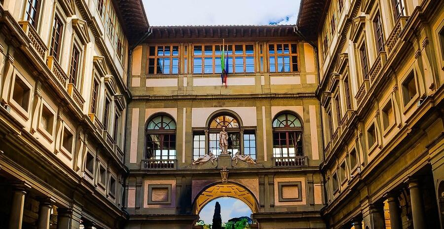 """Résultat de recherche d'images pour """"Galerie des Offices à Florence"""""""