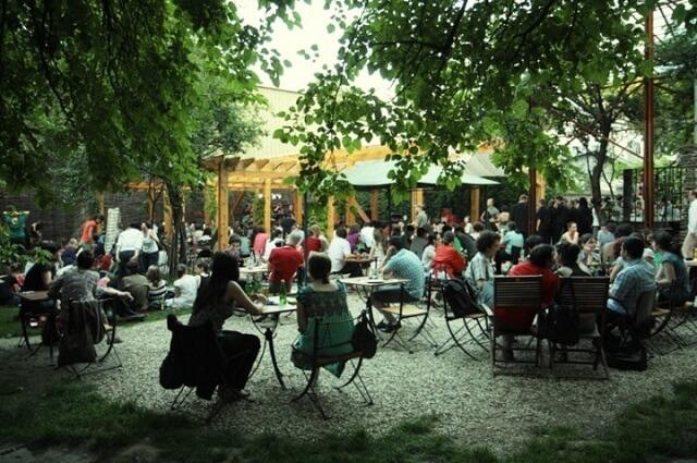 Grădina Verona, café Bucarest