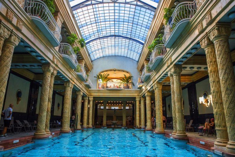 Histoire des bains thermaux Gellért à Budapest