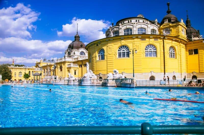 Histoire des bains thermaux de Széchenyi
