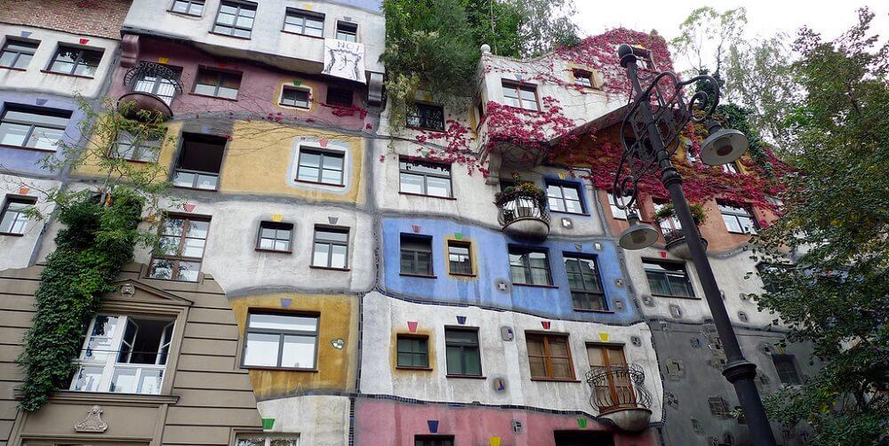 Hundertwasserhaus, maison, Vienne