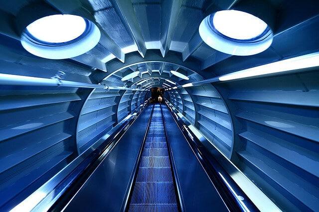Interieur Atomium Bruxelles