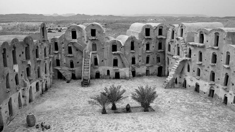 Ksar Ouled Soltane à Tataouine, Tunisie, Star Wars