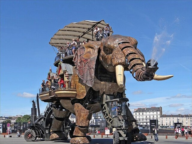 Les Machines de l'île à Nantes, L'éléphant