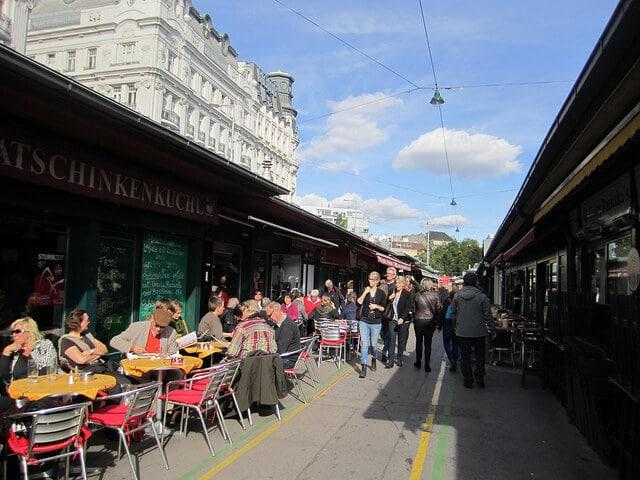 Marché Naschmarkt, Vienne
