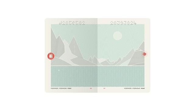 Passeport Norvège Design
