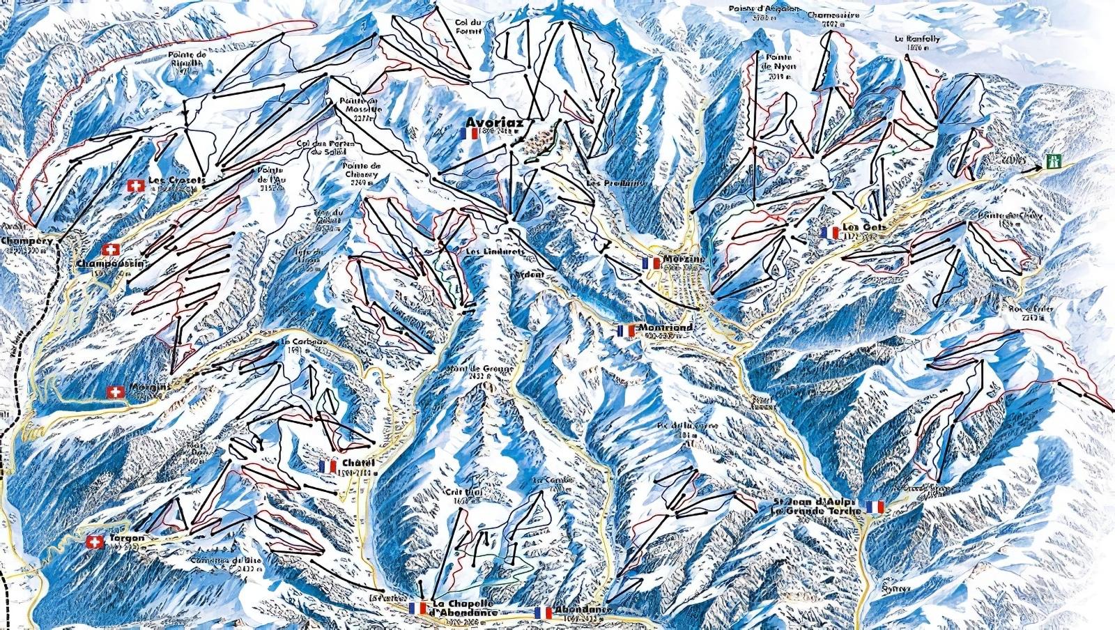 Les plus grands domaines skiables au monde
