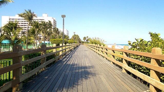 promenade South Beach, Miami