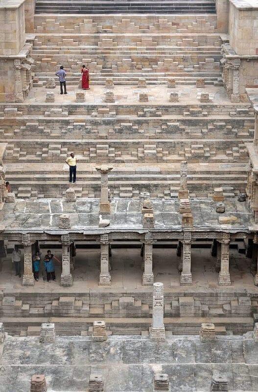 Rani-Ki-Vav, puits à degrés, Patan, Inde