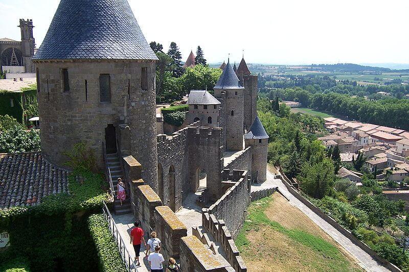 Remparts de Carcassonne, cité médiévale