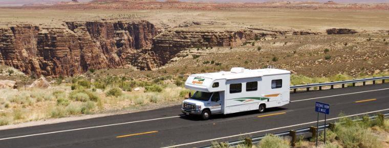 RV Etats-Unis, Camping road-trip