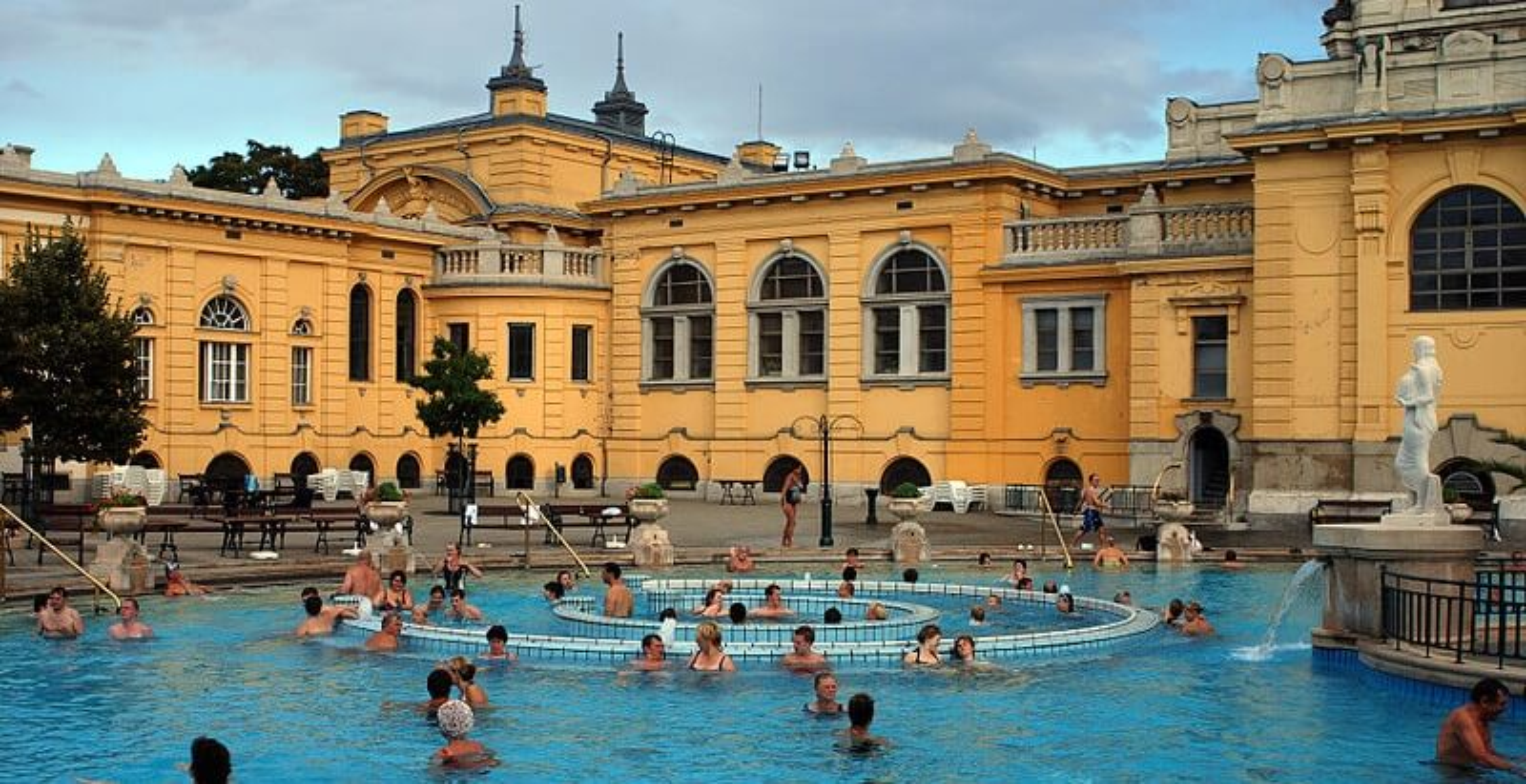 Széchenyi, bains Budapest