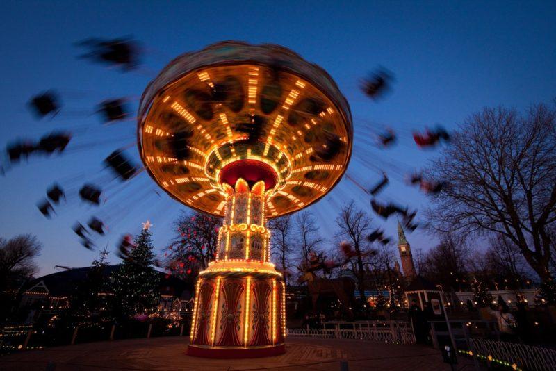 Carrousel, Jardins Tivoli, Copenhague