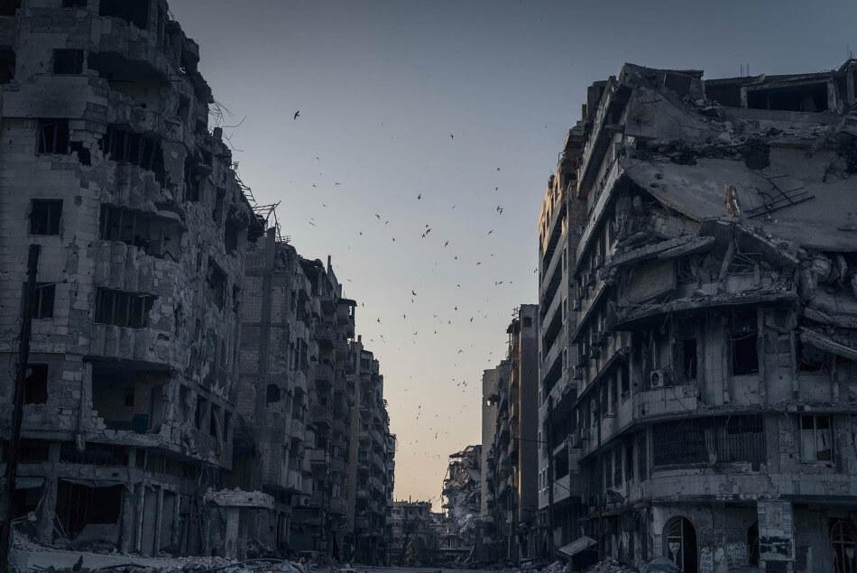 Homs en ruines