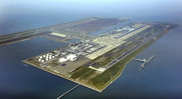 Aéroport de Kansai, Japon
