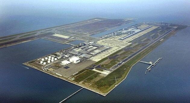 Aéroport de Kansai, Japon