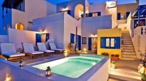 Afrodete hotel Santorin