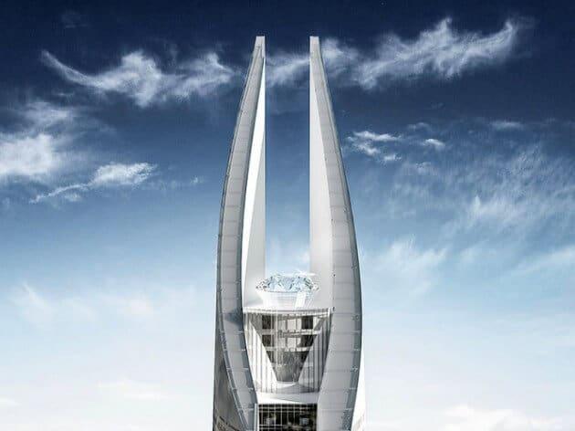 Le futur plus haut gratte-ciel d'Afrique a des airs d'Œil de Sauron