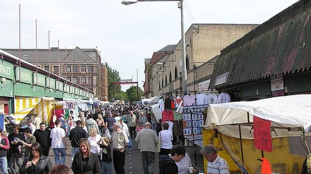 Barras marché Glasgow