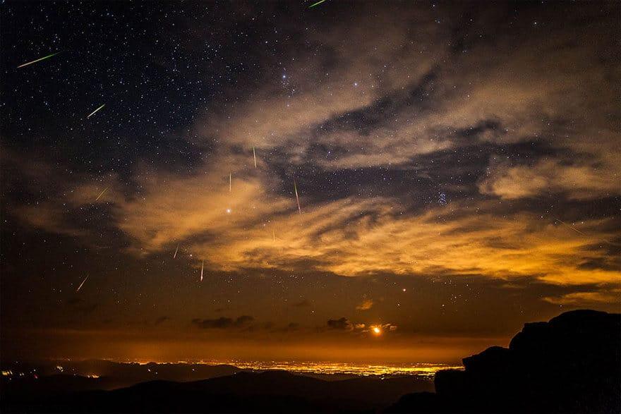 Belles photos du ciel la nuit, étoiles