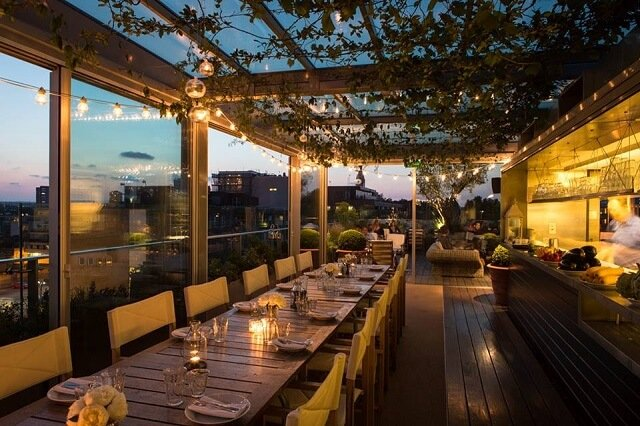 Boundary restaurant rooftop Londres
