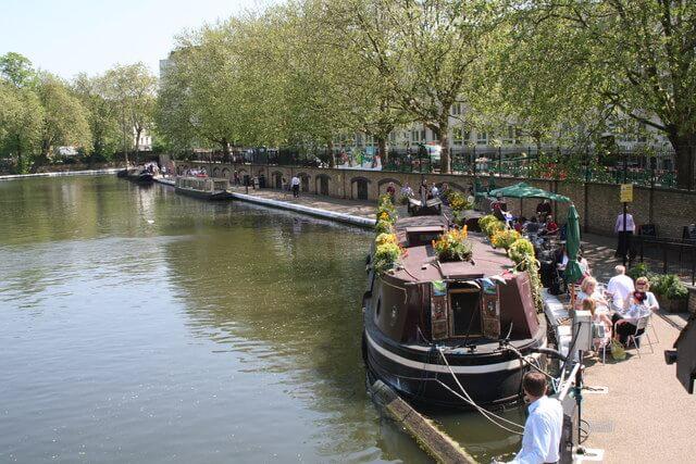 De Camden à Little Venice en bateau, Londres