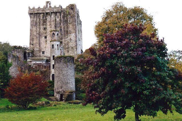 """château de Blarney et embrasser la """"Pierre de l'éloquence"""""""