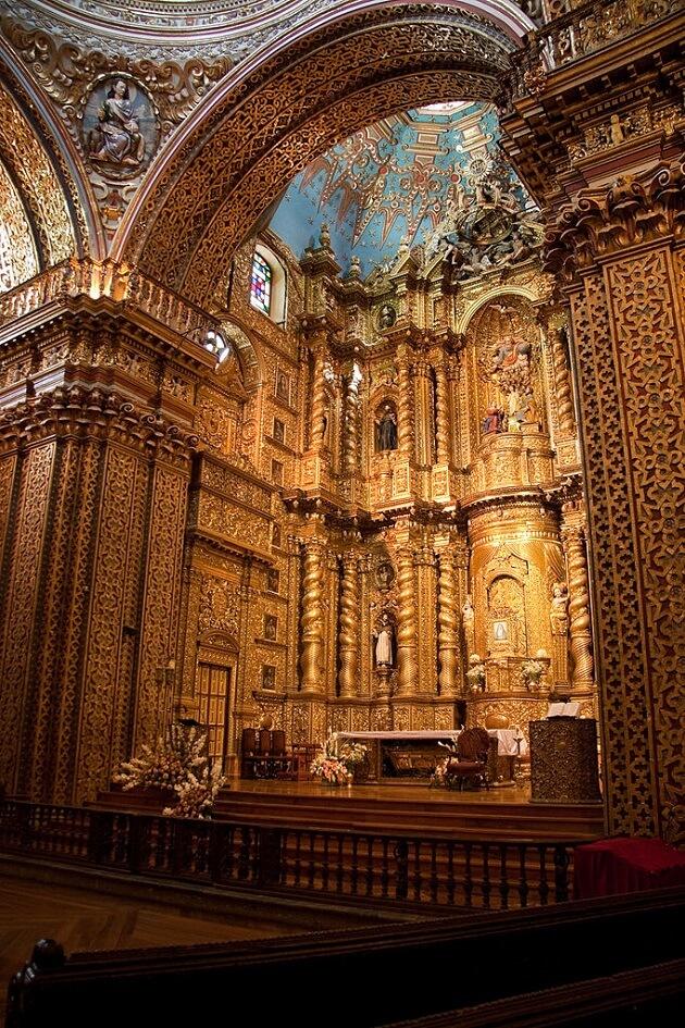 Eglise de la compagnie des Jésuites, Compañía de Jesús, Quito
