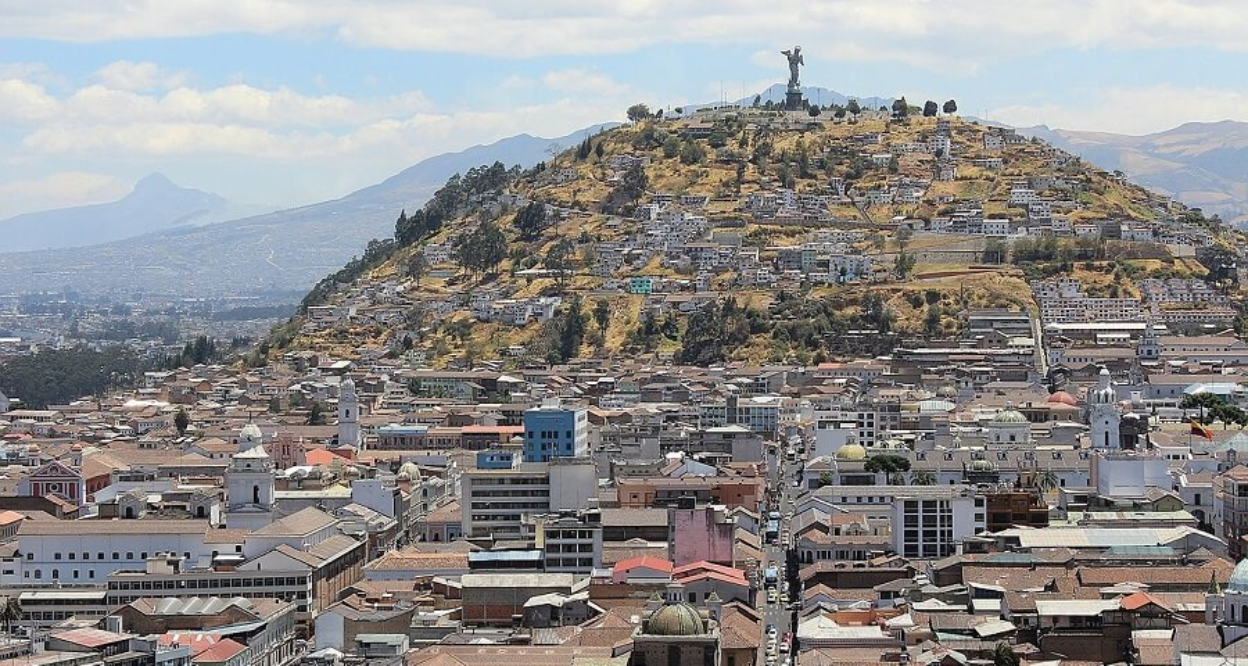 El Panecillo, vierge de Quito
