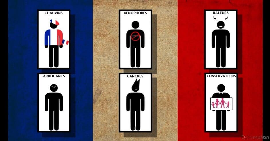 Vidéo: les Français (mal) vus par les pays étrangers