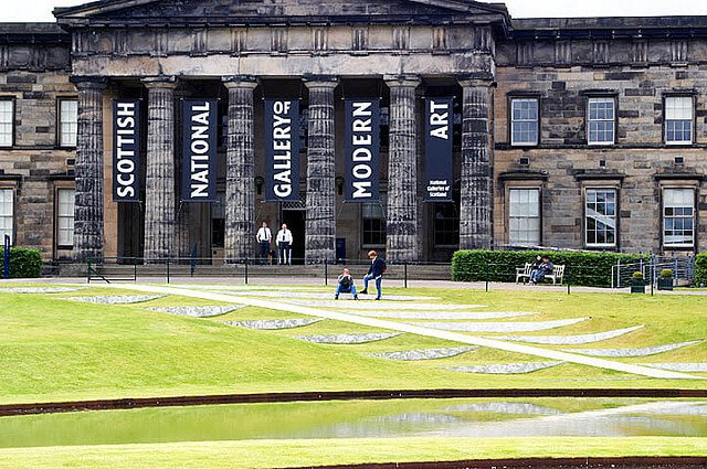 Galerie nationale ecossaise d'art moderne Edimbourg