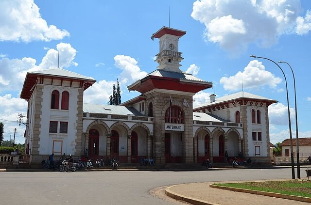 Gare Antsirabe, Route Nationale 7 Madagascar