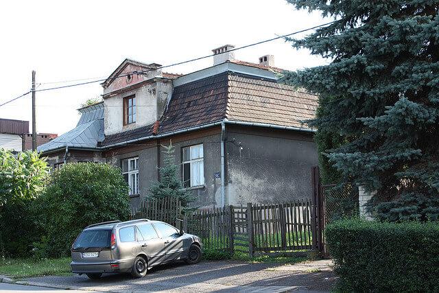 Maison d'Amon Göth, Nazi du camp de Plaszow, Cracovie