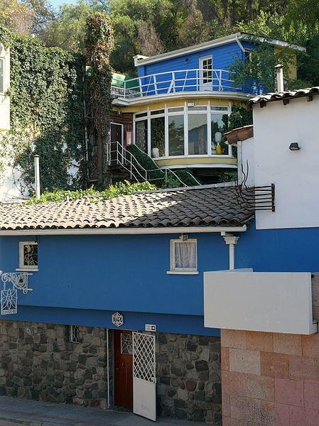 Maison Pablo Neruda, la Chascona, Santiago