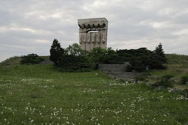 Mémorial, monument du camp de Plaszow, Cracovie