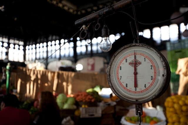 Mercado Central Santiago