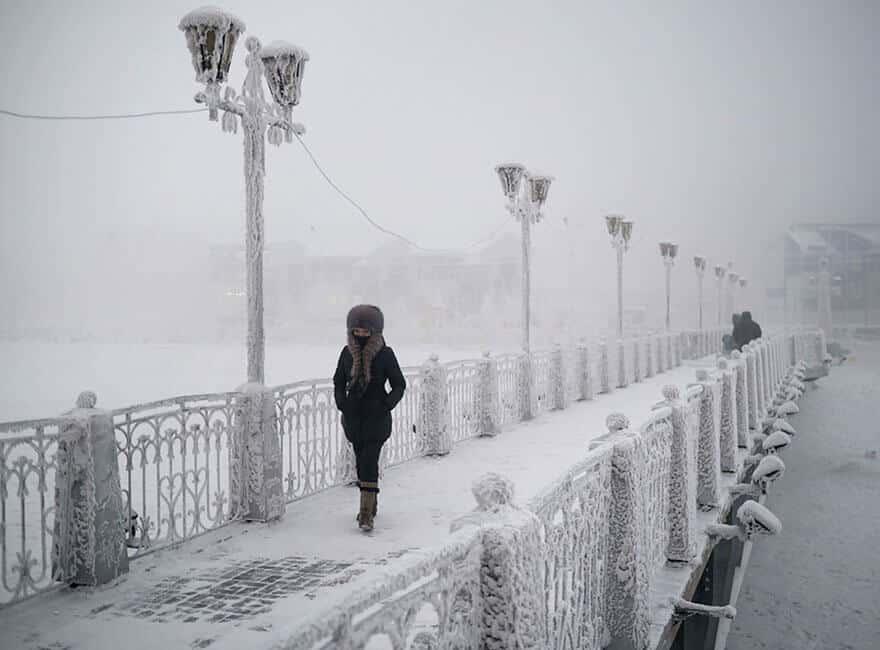 Oïmiakon, photo Amos Chapple, village le plus froid du monde
