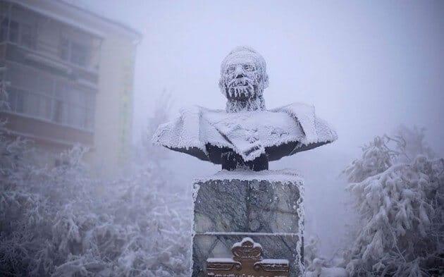 Le village d'Oïmiakon, l'endroit habité le plus froid sur Terre