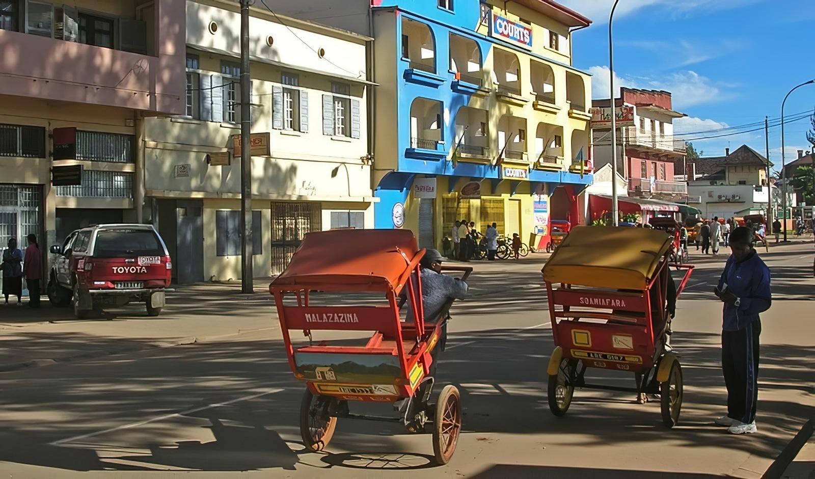 Pousse-pousse Antsirabe