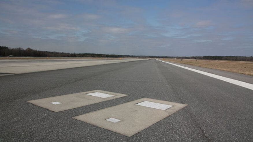 Savannah Airport, tombe sur la piste