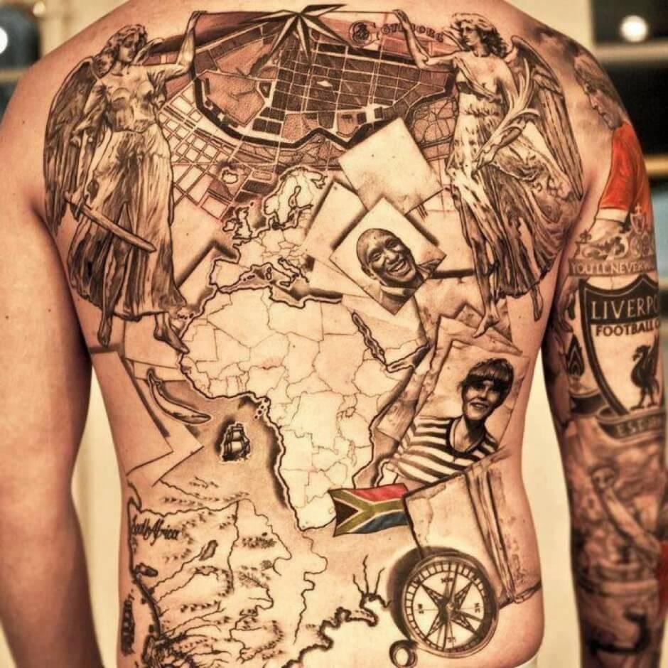 Tatouages thème voyage