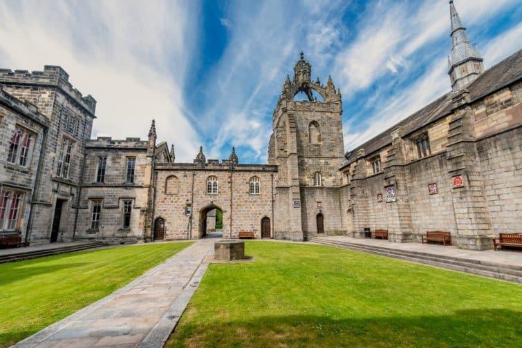 Intérieur de l'université d'Aberdeen