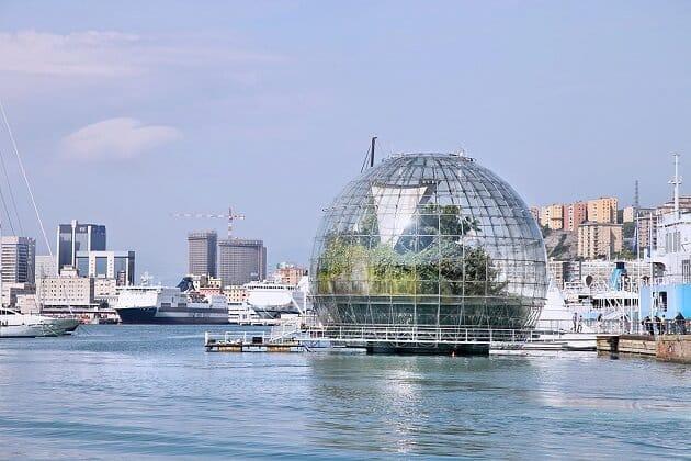 Aquarium et Sphere de Gêne, Porto Antico