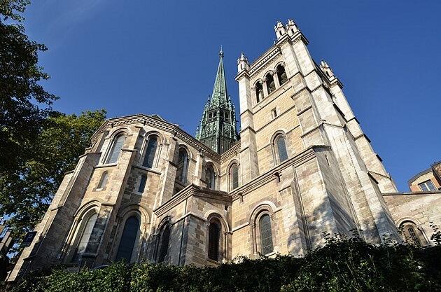 Cathédrale Saint-Pierre, Genève