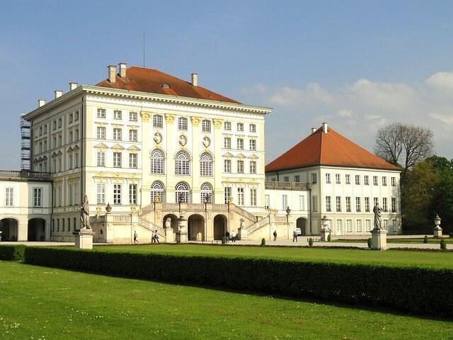 Château, palais, Nymphenburg, Munich