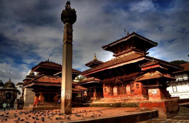 Découverte de la ville de Katmandou