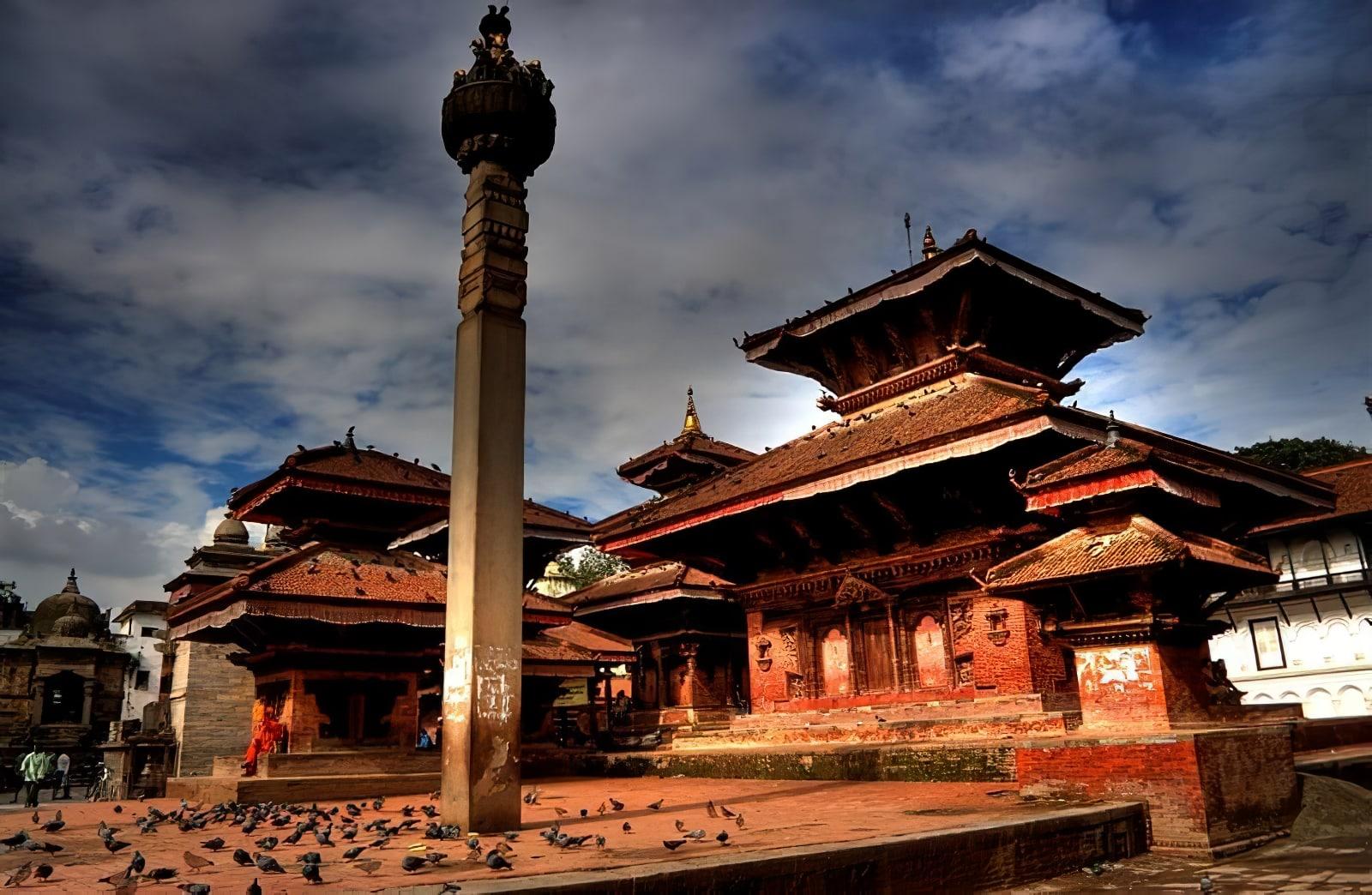 Durbar Square Katmandou Népal
