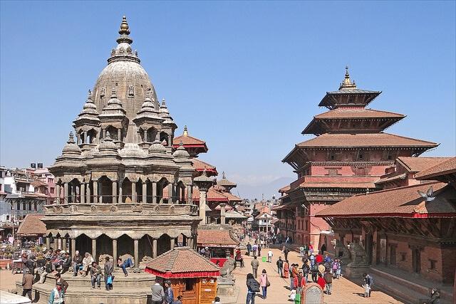 Durbar Square, Patan, Népal